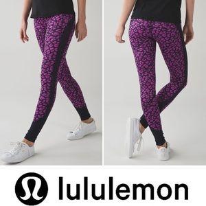🦊RARE PRINT Lululemon Drop it Like It's Hot Pant